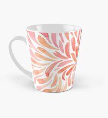 Living Coral Swirl Tall Mug