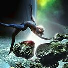 A Fairy. In Space. Just Floating. by Noel Taylor