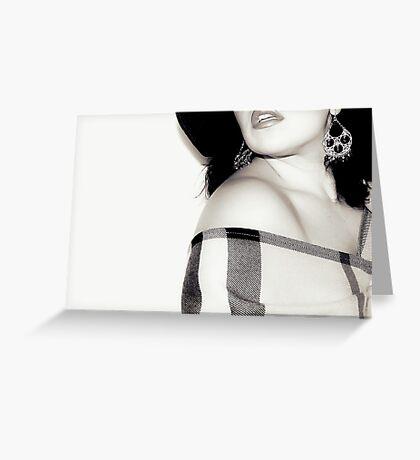 lips Greeting Card