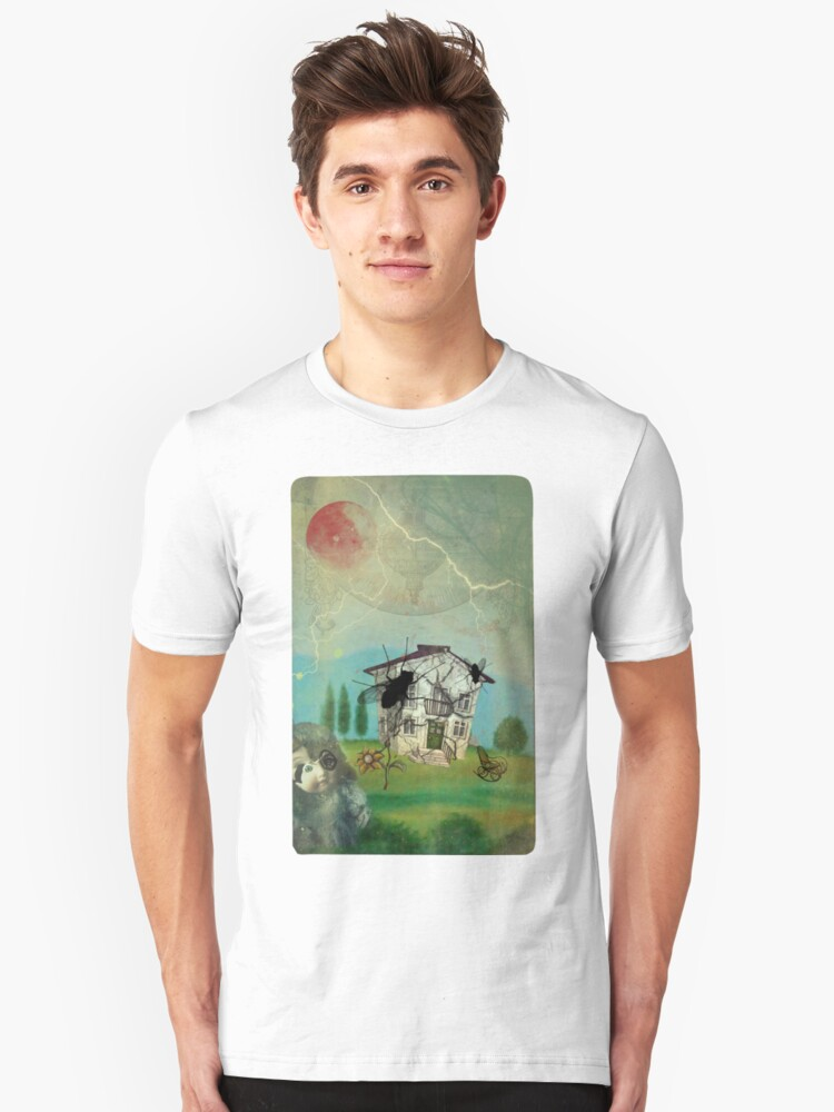 The slope of the abandonment Unisex T-Shirt Front