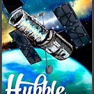 HUBBLE TELESCOPE ; A Deep Space Window Print by posterbobs