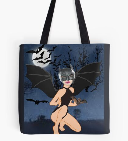 Bat woman (4904 Views) Tote Bag