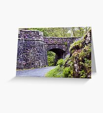 Dunvegan Castle Wall Greeting Card