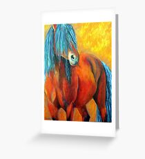 Stallion's Concerto Greeting Card