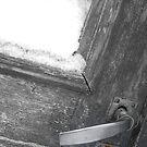 Door in the snow by AbsintheFairy