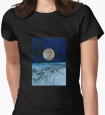 Above Earths' Atmosphere Womens Fitted T-Shirt