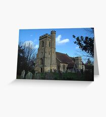 St Mary, Leigh Greeting Card