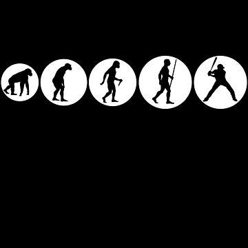 Baseball Evolution von S-p-a-c-e