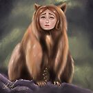 Lita, The Bear Girl by ardenrachelart