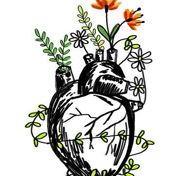 Corazón floreciente de KaylaPhan