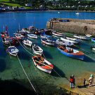 Coverack in the sun by SWEEPER