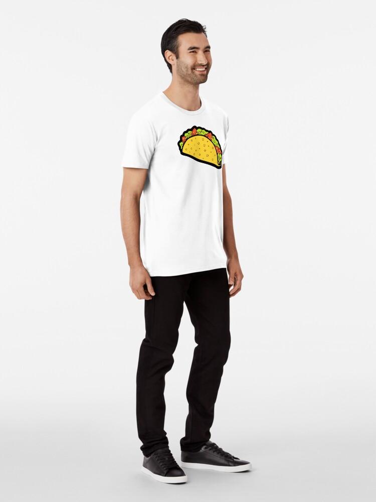 Alternative Ansicht von Es ist Taco Zeit! Premium T-Shirt