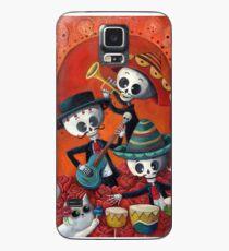 Dia de Los Muertos Skeleton Musicans Case/Skin for Samsung Galaxy