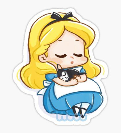 Adorable fille merveilles Sticker