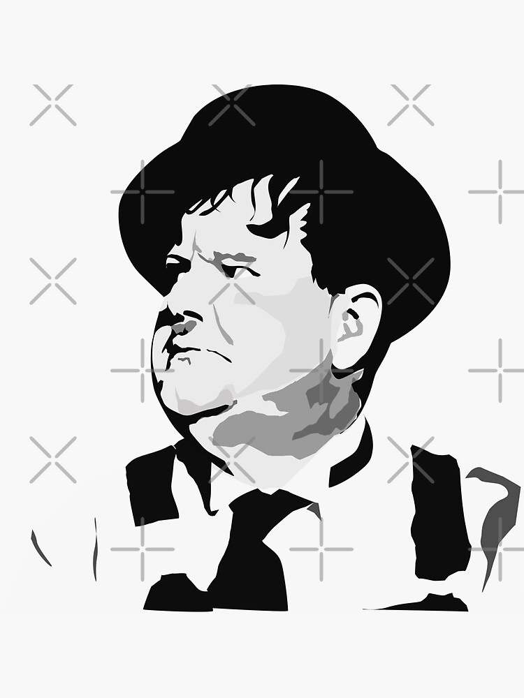 Oliver Hardy by mayerarts