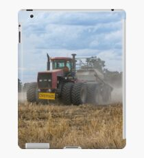 Dusty Job ...Ploughing ...Case Does It Easy.... iPad Case/Skin