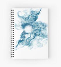 Up in Smoke (blue) Spiral Notebook