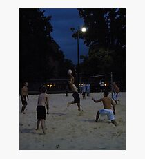 Volley Two Photographic Print