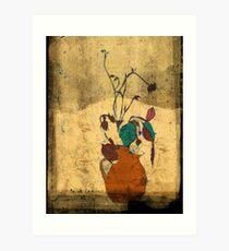 bouquet sordide fresco  Art Print