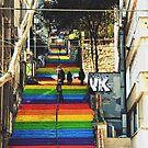 Rainbow steps by heinrich