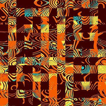 Geometric patchwork by gavila