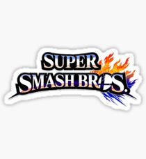 Pegatina Super Smash Bros
