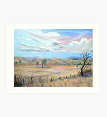 Blayney [NSW] Australia ] Wind Farm Art Print