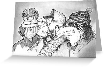 Three Gentlemen by Pete Janes