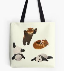 Lazy Pandas Tote Bag