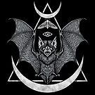 «Murciélago oculto» de deniart