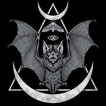 Okkulter Fledermaus von deniart