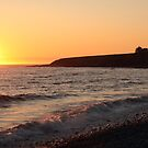 Sunset at Cranberry Head by Debbie  Roberts