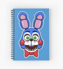 Five Nights at Freddy's - FNAF - Toy Bonnie  Spiral Notebook