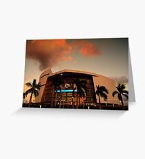 Scenes from Miami VII Greeting Card