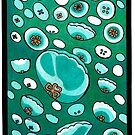 Diving Jellies by laughingcats