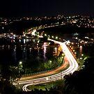 Night time at Spit Bridge by Jason Ruth