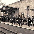 Railway station rush hour  by patjila