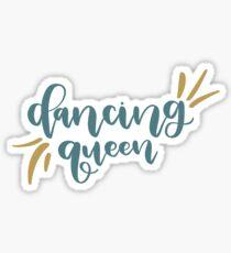 Dancing Queen Mamma Mia Sticker