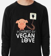 VeganChic ~ Powered By Vegan Love Lightweight Sweatshirt