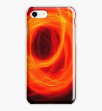 Orange Overlap iPhone Case/Skin