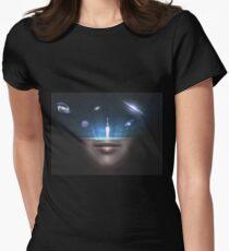 Offenheit Tailliertes T-Shirt für Frauen