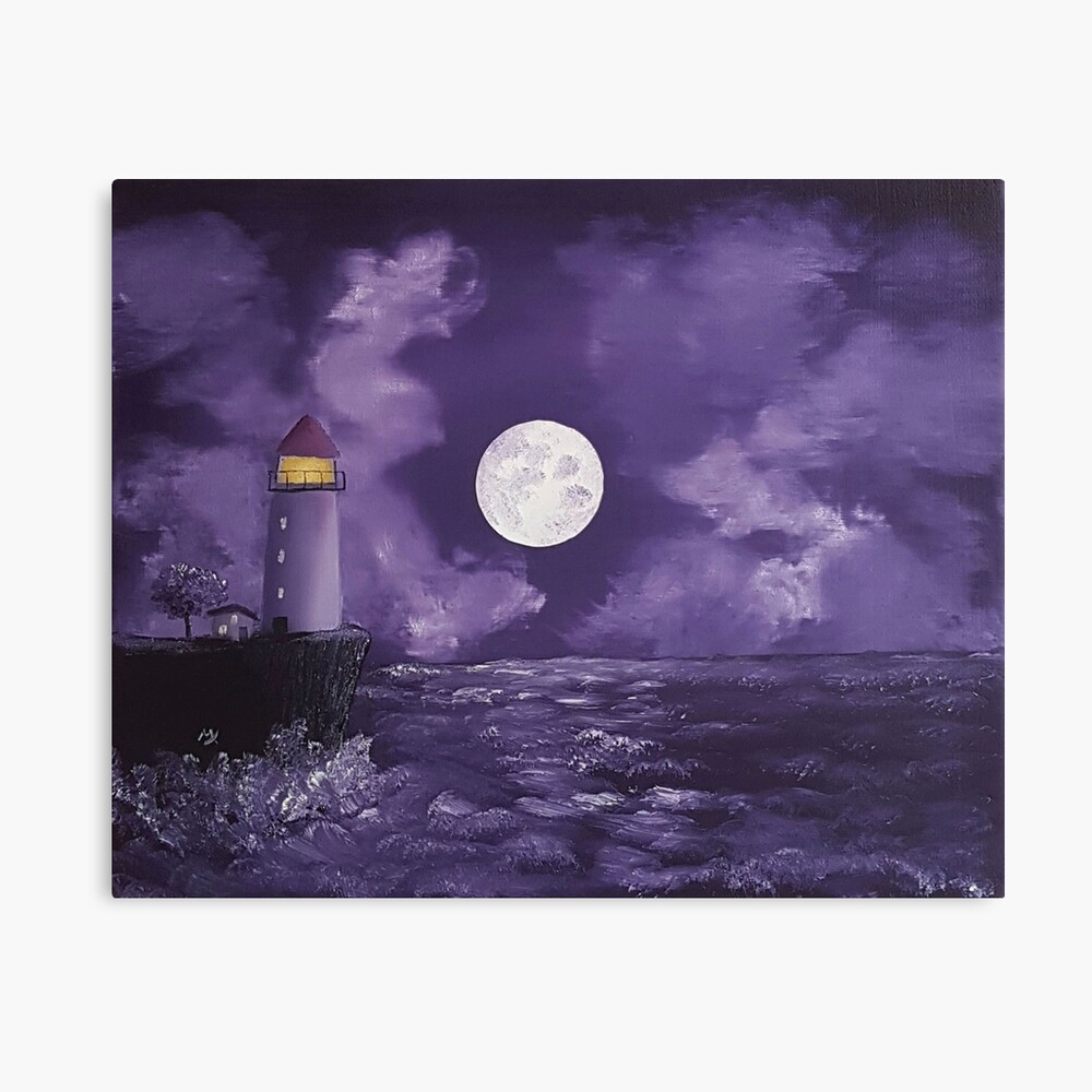 I Dreamed I Lived By The Ocean Canvas Print