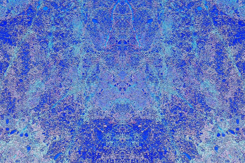 Rock Carpet Blue (CU2) by Hugh Fathers