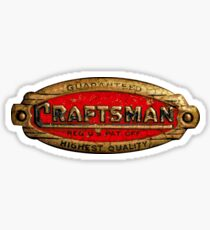 Craftsman Vintage Tools USA Sticker