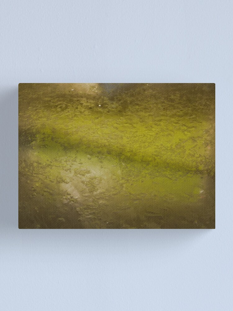 Alternate view of Crushed (green) Canvas Print