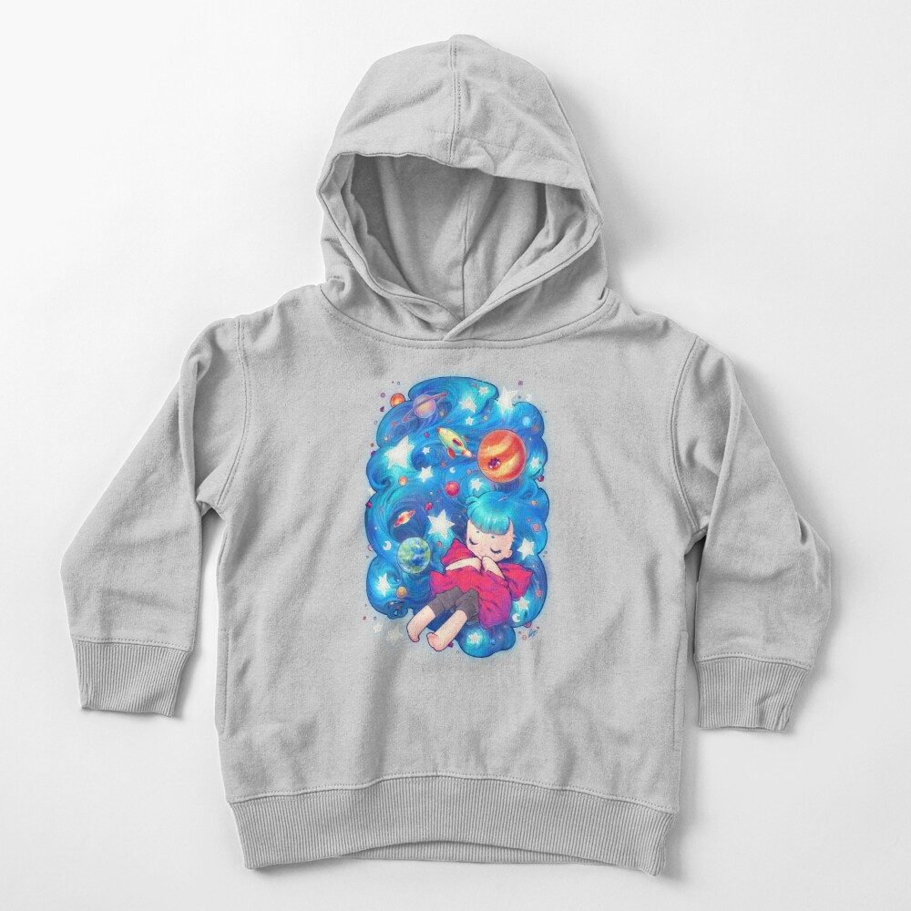 space Toddler Pullover Hoodie