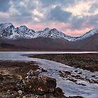 Bla Bheinn, Blaven, Winter Sunrise, Isle of Skye by derekbeattie