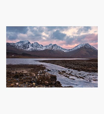 Bla Bheinn, Blaven, Winter Sunrise, Isle of Skye Photographic Print