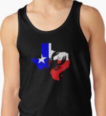 Texas CrawFish Cajun - Lone Star Flag Texan Design  Tank Top