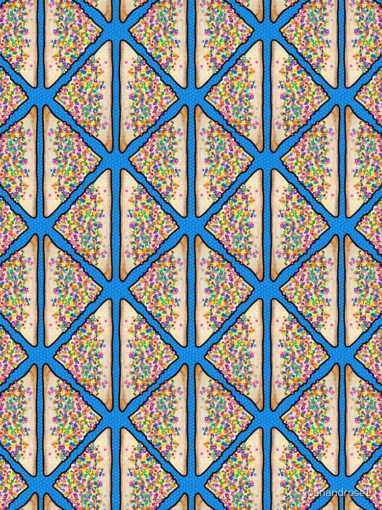 Feenbrot in Blau, australisches Art Deco von joanandrose1